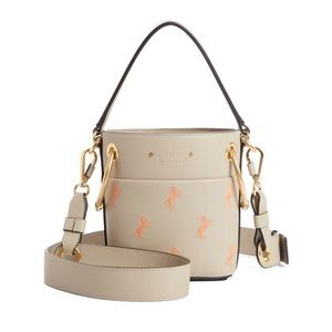 CHLOÉ Small Embroidered Roy Bucket Bag